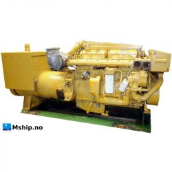 Caterpillar 3406 gereratorset mship.no