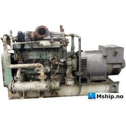 Mitsubishi diesel engine with Stamford MSC434E 260 kWA generator