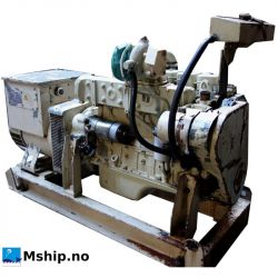 Cummins 6BT5,9-D (M) generator set 98 kWA mship.no