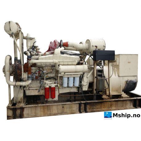Cummins VT A28 G3 generatorset With Stamford 625 kWA generator mship.no