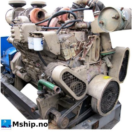 Cummins VT-12-635GS generator set with 380 kWA generator mship.no