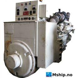 Cummins VTA28G1 generator set with 625 kWA generator mship.no