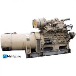 Cummins VT12-800-GC generator set with 413 kWA generator