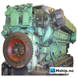 Bergen diesel KVM 12 - mship.no