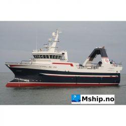 39,95 meter Stern trawler - Freezer / wet fish. - Year 2009.