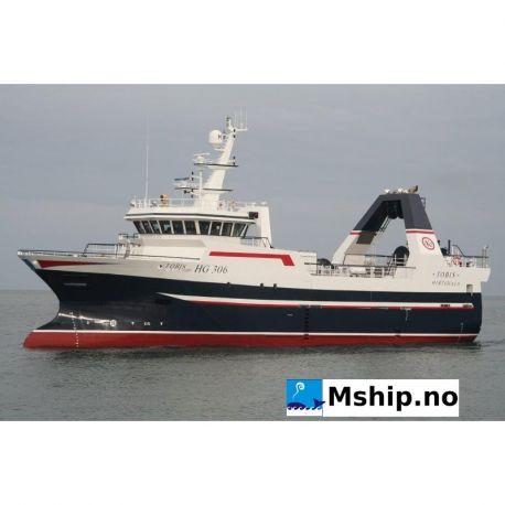 39,95 meter Stern trawler - Freezer / wet fish. http://mship.no