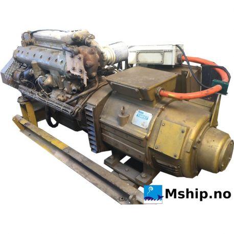 Mercedes OM352A. 75 kWA generatorset mship.no