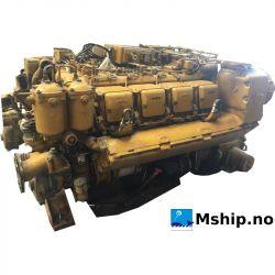 MTU 8V 396 TB84 Marine Diesel engine 672 kW.