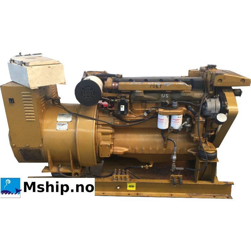 Northern Lights M6414T Marine Diesel Generator Set 93 KWA