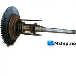 turbine rotor incl shaft MAN NA 57/T  (from MAN 9L 58/64 – 1110079)
