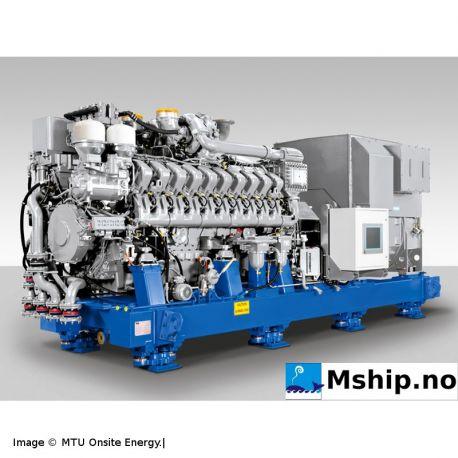 MTU 20V 4000 P63 Generator set 2500 kWe - EDG for Nuclear Power Plants mship.no