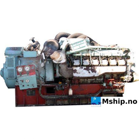 Deutz 12M 716 generator set 419 kWa http://mship.no