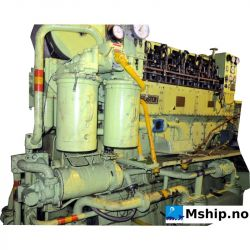 Ruston type 6APC7/2 generator set