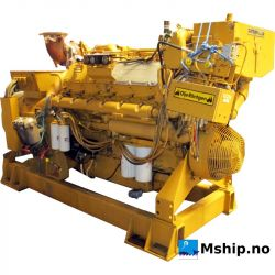 Caterpillar 3412 DI generator set 380 kWA