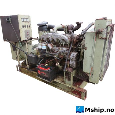Iveco 8061 SI05 with Leroy-Somer 64 kw Genset https://mship.no