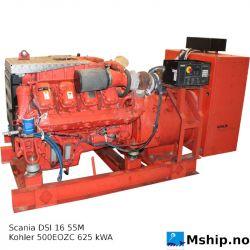 Scania DI16 55M with Kohler 500EOZC  625 kWA generator