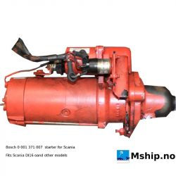 Bosch starter for Scania