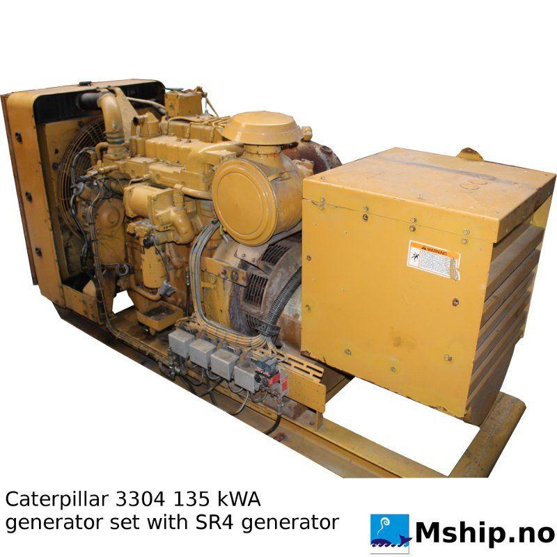 Caterpillar Generator set Sr4 Manual