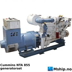 Cummins NTA855 generatorset