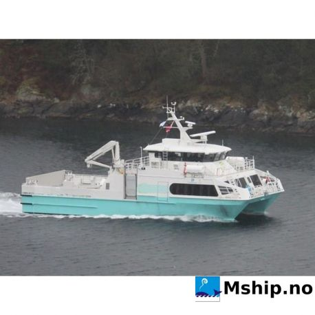 26 meter HSC passenger catamaran / cargo / car Ferry https://mship.no