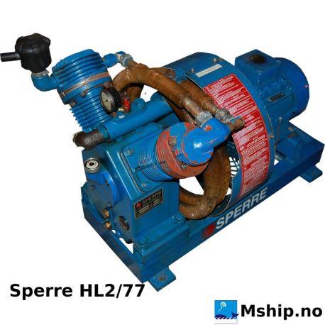 Sperre HL2 77 start air compressor https://mship.no