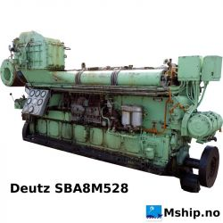 Deutz SBA 8M 528 https://mship.no/engines-equipment/445-deutz-sba-8m-528.html