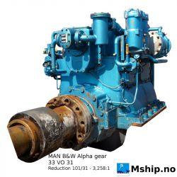 MAN B&W Alpha gearbox type 33 VO 31