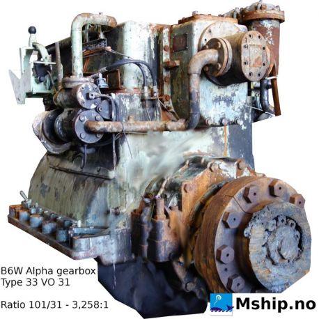 B&W Alpha gearbox type 33 VO 31 https://mship.no