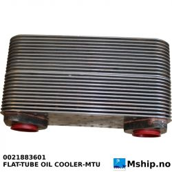 MTU 0021883601 FLAT-TUBE OIL COOLER