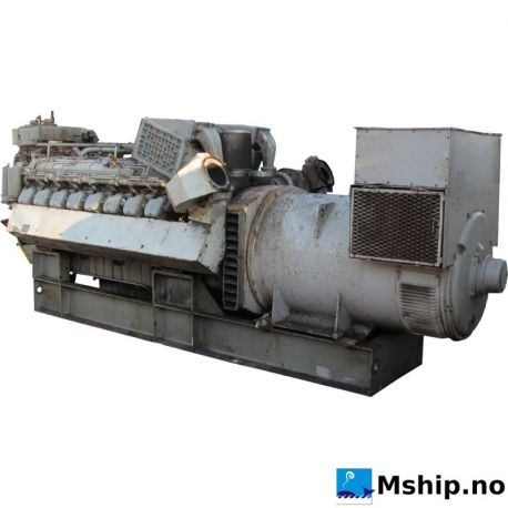 Deutz BA16M 816U generator set 1200 kWA https://mship.no