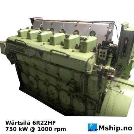 Wärtsilä 6R22HF https://mship.no