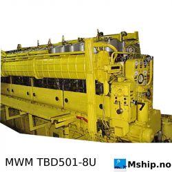 MWM TBD501-8U