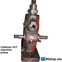 Callesen 427 - Fuel injection Pump