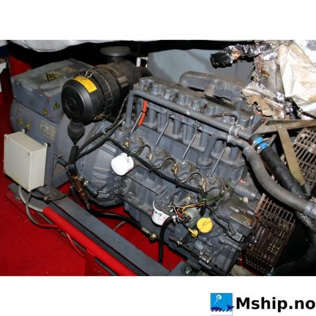 Deutz BF4M 1011 F generator set 35 kWA https://mship.no