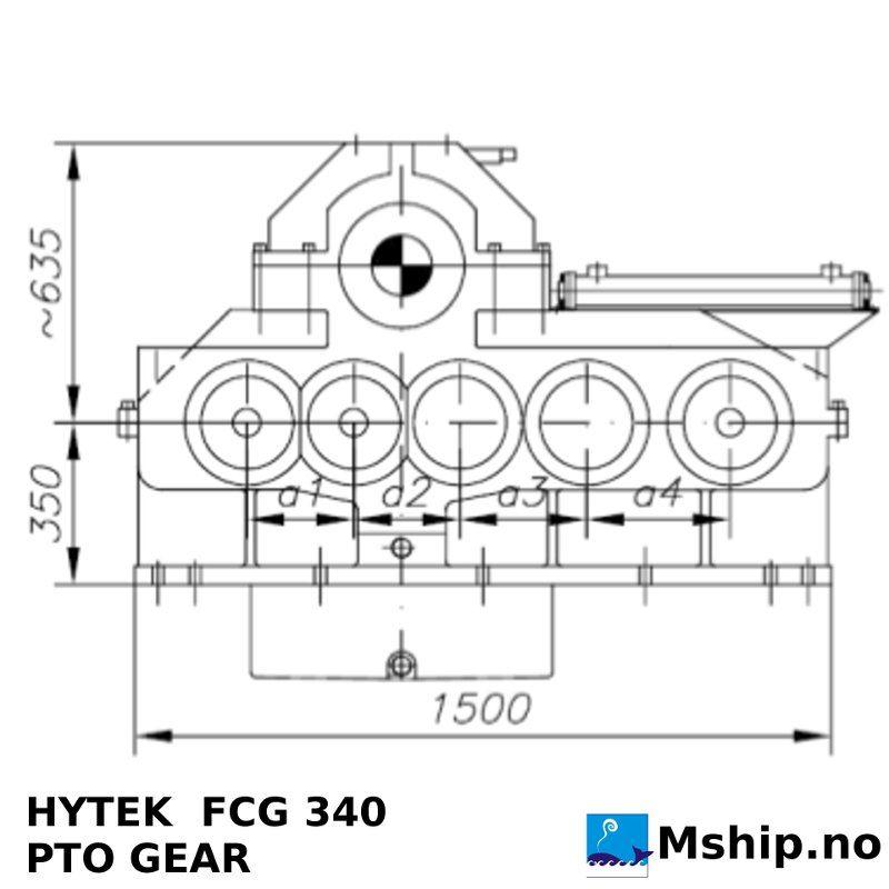 Hytek FCG 340 gear
