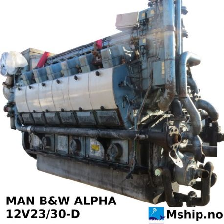 MAN B&W ALPHA  12V23/30-D   https://mship.no