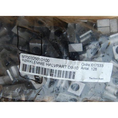 MTU 700325010100 PIPE HALF-CLAMP