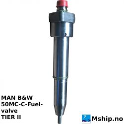 MAN B&W 50MC-C Fuel-valve
