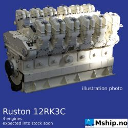 Ruston 12RK3C  https://mship.no