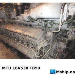 MTU 16V538 TB90