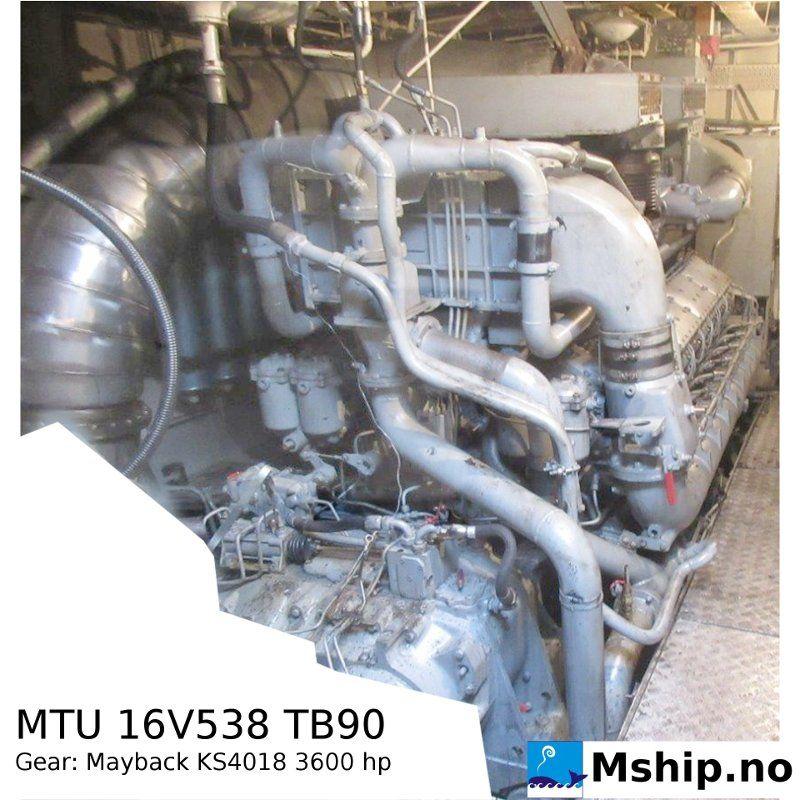 MTU MD 16V 538 TB90