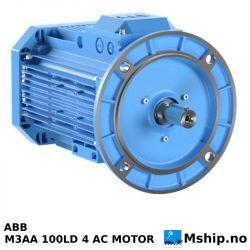 ABB M3AA 100LD 4 AC MOTOR https://mship.no