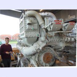 MTU 16V 396 TB84 Marine Diesel engine