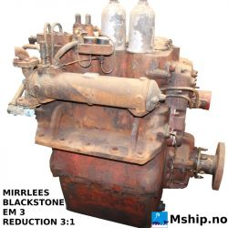 MIRRLEES BLACKSTONE EM 3 gear https://mship.no