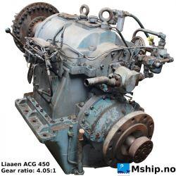 Liaaen ACG 450 gear ratio 4,05:1 https://mship.no