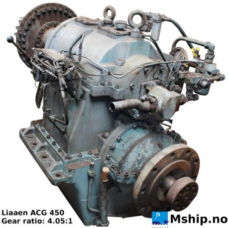Liaaen ACG 450 gear ratio 4,05:1 https://mship.no