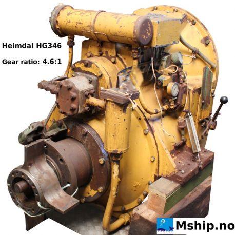 Heimdal HG 346 reduction: 4,6:1  https://mship.no