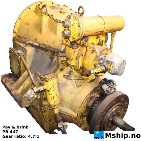 Pay & Brink PB 447 with 4.7:1 gear ratio  https://mship.no