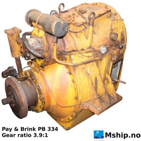 Pay & Brink PB 339 - Gear ratio 3.9:1   https://mship.no