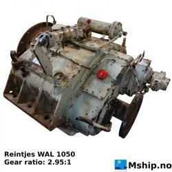Reintjes WAL 1050 gear ratio 2.95:1 https://mship.no
